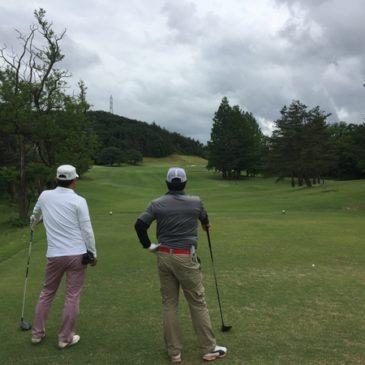 第一回ゴルフ練習ラウンド