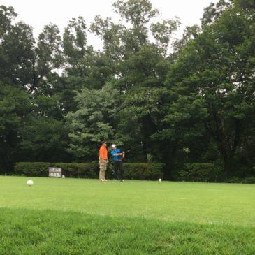 第二回ゴルフ練習ラウンド
