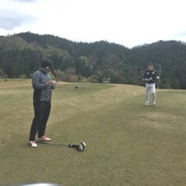 ゴルフ練習ラウンド