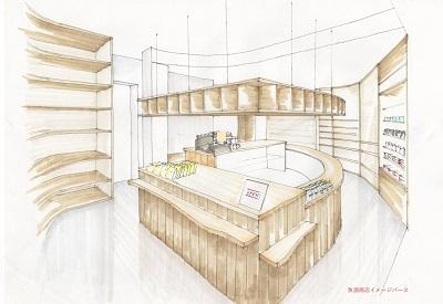 あいの風 魚津駅に新しいお店ができます。